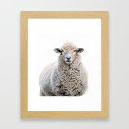 Mona Fleece-a Framed Art Print
