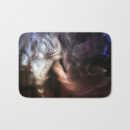 Painting with Smoke - Ponytail Bath Mat
