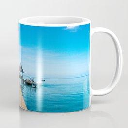 Tahiti Boat Dock Coffee Mug