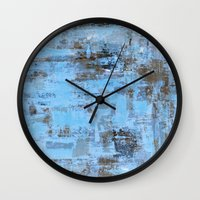 urban Wall Clocks featuring Urban by T30 Gallery