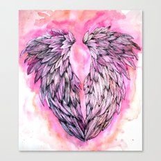 Pink Wings Canvas Print