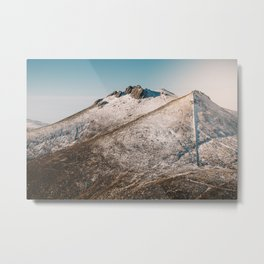 Winter in Mourne Mountains Metal Print