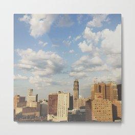 17th Floor - Detroit, MI Metal Print