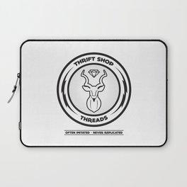 Thrift Shop Threads Button_Kudu Laptop Sleeve