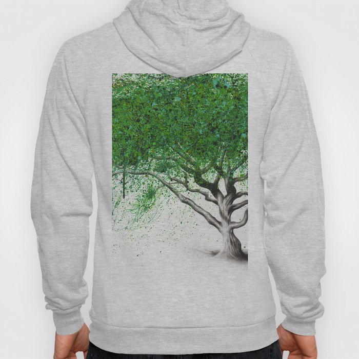 Green Breeze Tree Hoody