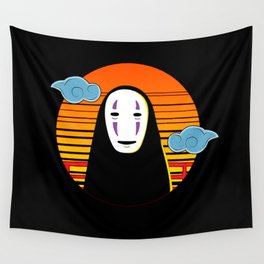 No Face a Lonely Spirit Wall Tapestry