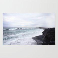 black beaches Rug