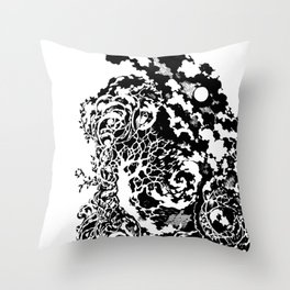 After the storm has passed Throw Pillow