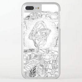 The Engine Room Clear iPhone Case