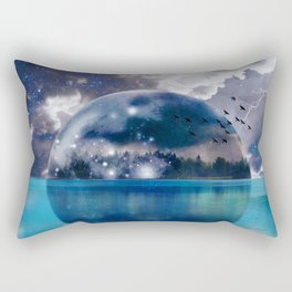 Reflecting(From A Higher Place) Rectangular Pillow