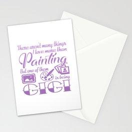 Painting Gigi Stationery Cards