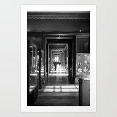 PARIS III - LOUVRE Art Print