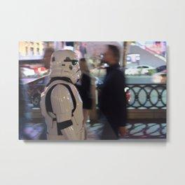 Stormtrooper Las Vegas Metal Print