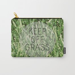 Keep Off Grass Carry-All Pouch
