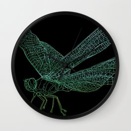 Dragonfly Wall Clock