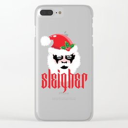 Sleigher | Christmas Xmas Parody Clear iPhone Case