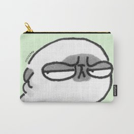 Mochi the pug giving the stink eye Carry-All Pouch