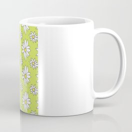 Fresh As A Daisy (Lime) Coffee Mug