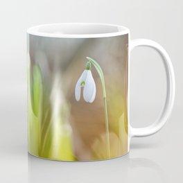 Lonely snowdrop... Coffee Mug