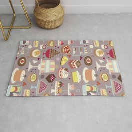 Patisserie Cakes and Good Things Rug