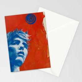 Orange Colored Sky Stationery Cards