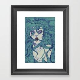 Octopus S.Y. Framed Art Print