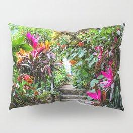 Dreamy Mexican Jungle Garden Pillow Sham