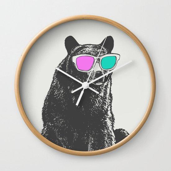 3D is Un-bear-able  Wall Clock