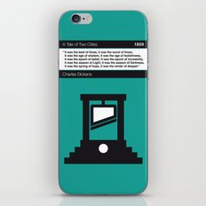 No009 MY Tale of Two Cities Book Icon poster iPhone & iPod Skin
