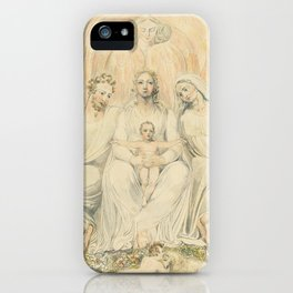 The Holy Family by William Blake, 1805 iPhone Case