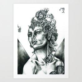 Overturned Plan Of Existence Art Print