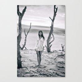 B&W Models Series Canvas Print
