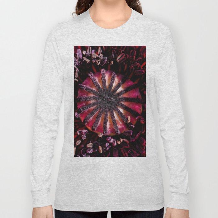 Poppy heart Long Sleeve T-shirt
