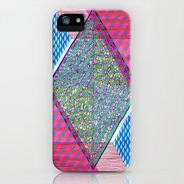Isometric Harlequin #10 iPhone Case