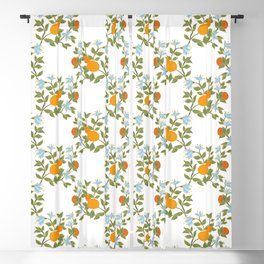 Andalusian oranges Blackout Curtain