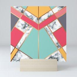 Geometry Gold 020 Mini Art Print