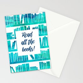 Read All the Books! Stationery Cards