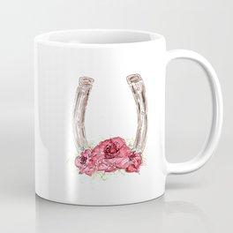 Derby Horseshoe, Roses, Kentucky, Races Coffee Mug