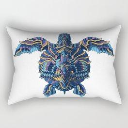 Sea Turtle (Color Version) Rectangular Pillow