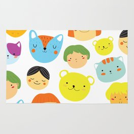 Kids & Animals Rug