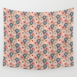 Ovopornis - beige Wall Tapestry