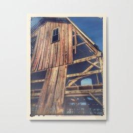 Faded Barn  Metal Print