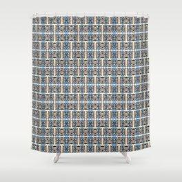 Electron Shuffle - Stroke Series 002 Shower Curtain