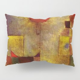 1922 Classical Masterpiece 'Red Balloon' by Paul Klee Pillow Sham