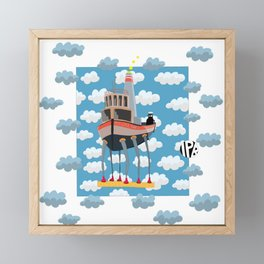 My Little Boat 2! Framed Mini Art Print