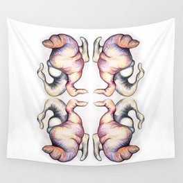 Courtship Wall Tapestry