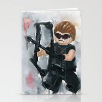 avenger Stationery Cards featuring Avenger Lego by Toys 'R' Art