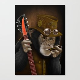 Rockers of the apes Canvas Print