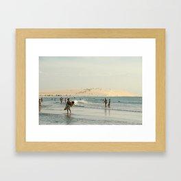 Sanddune Framed Art Print