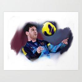 Leonel Messi Art Print